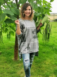 Bluza NEWS grey